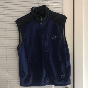 Mountain Hardwear blue black vest